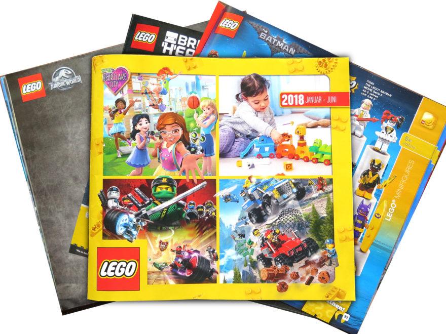 LEGO Katalog Januar bis Juni 2018 - Titelbild | © 2018 Brickzeit