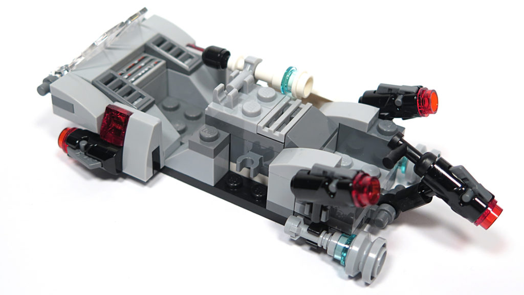LEGO® Star Wars™ 75166 First Order Transport Speeder Battle Pack - Transport Speeder | © 2018 Brickzeit