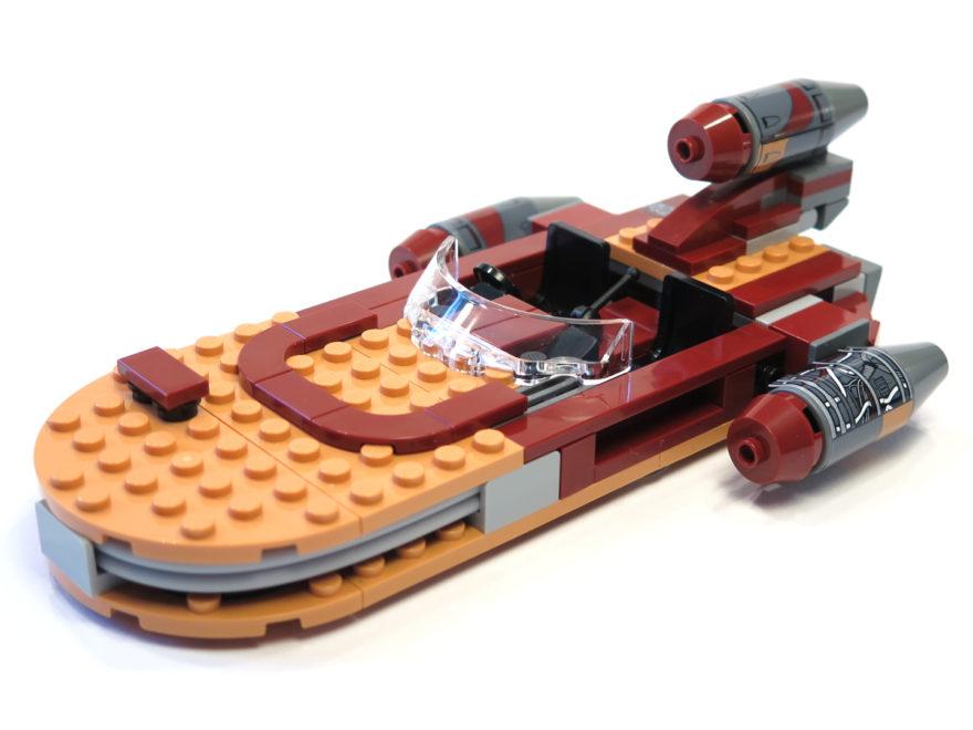 LEGO® Star Wars™ 75173 Luke's Landspeeder | © 2018 Brickzeit