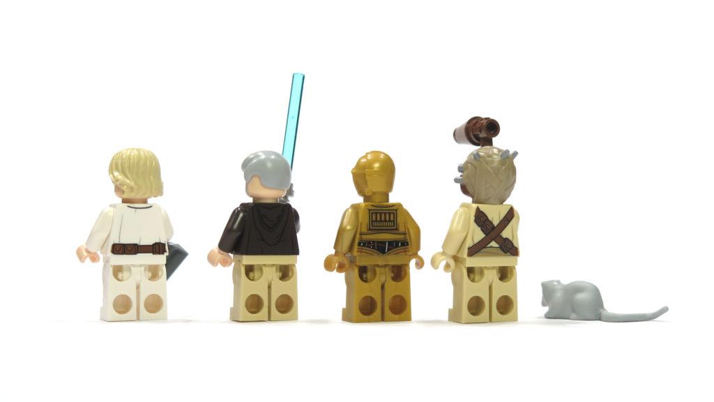 LEGO® Star Wars™ 75173 Luke's Landspeeder - Figuren Rückseite | © 2018 Brickzeit