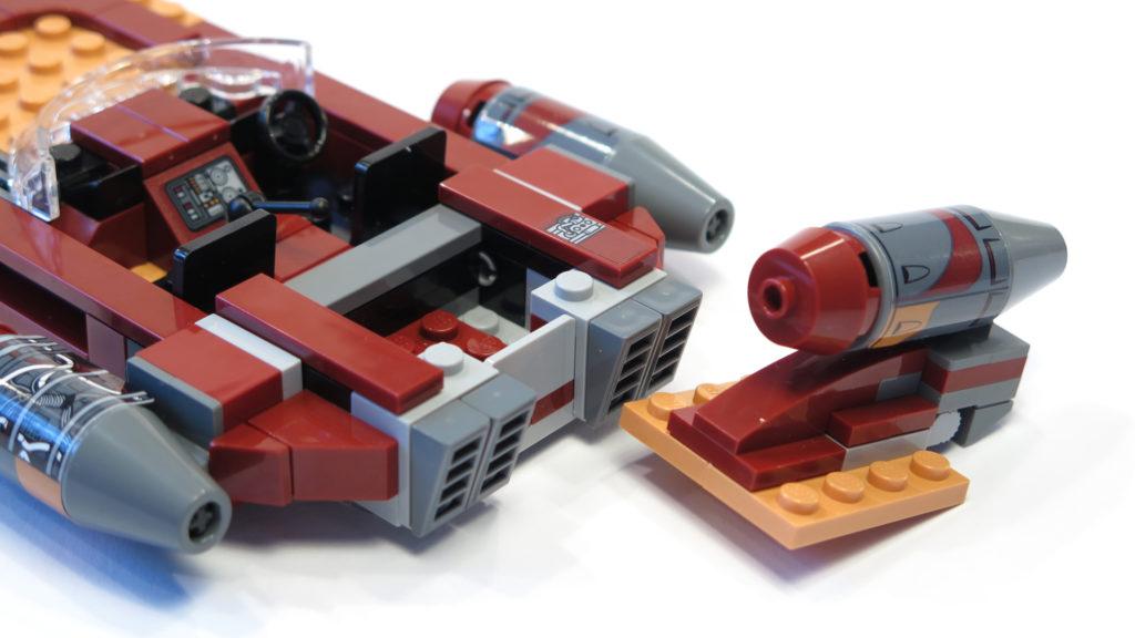 LEGO® Star Wars™ 75173 Luke's Landspeeder - Stauraum | © 2018 Brickzeit