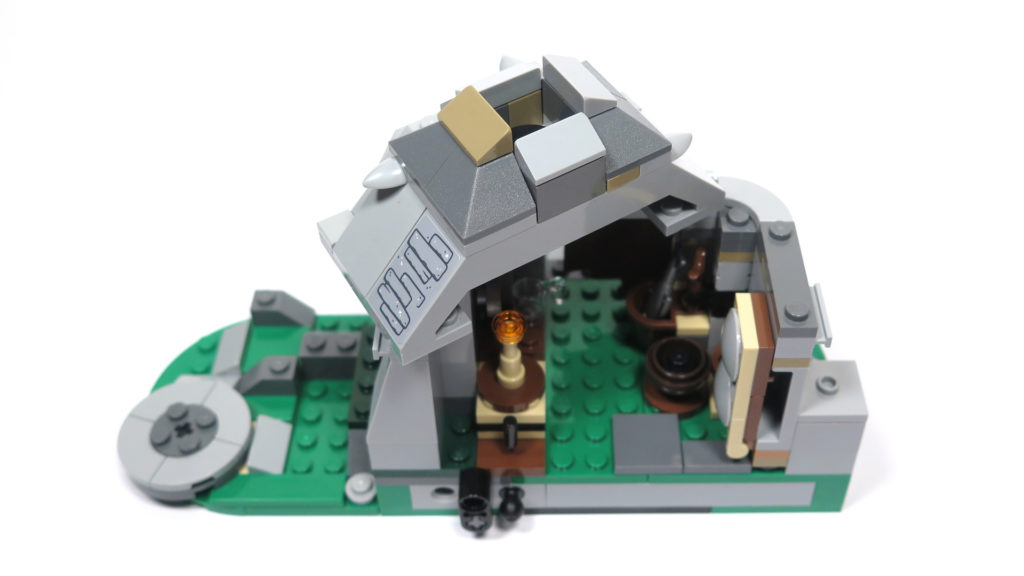LEGO® Star Wars™ 75200 Ahch-To Island™ Training - Dach Steinhütte | ©2018 Brickzeit