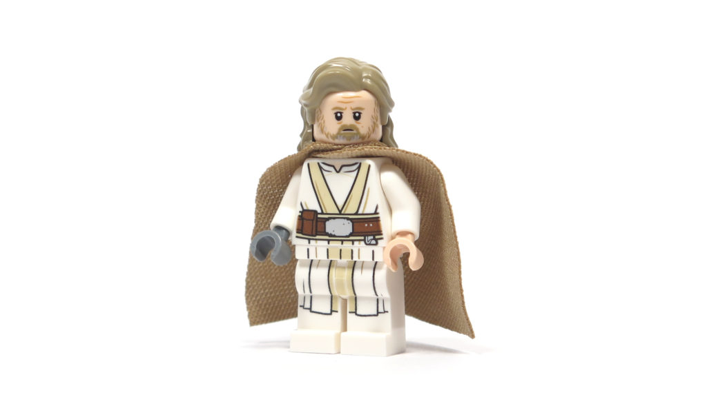 LEGO® Star Wars™ 75200 Ahch-To Island™ Training - Luke Skywalker Vorderseite | ©2018 Brickzeit