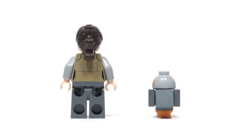 LEGO® Star Wars™ 75200 Ahch-To Island™ Training - Rey und Porg Rückseite | ©2018 Brickzeit