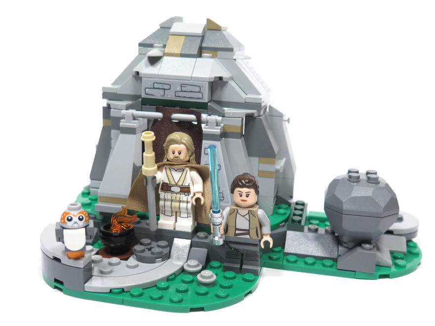 LEGO® Star Wars™ 75200 Ahch-To Island™ Training - Set 1 | ©2018 Brickzeit