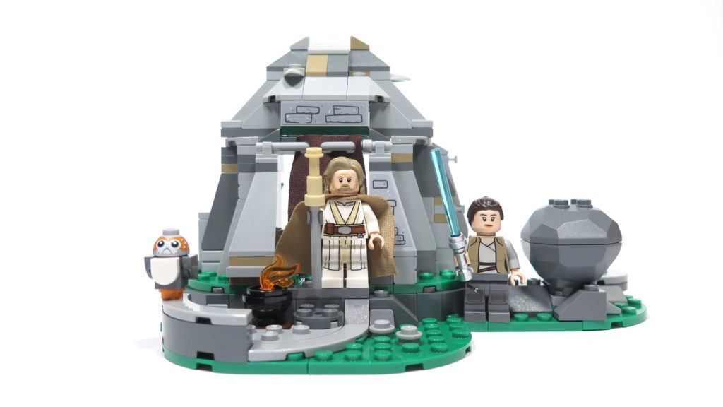 LEGO® Star Wars™ 75200 Ahch-To Island™ Training - Set 2 | ©2018 Brickzeit