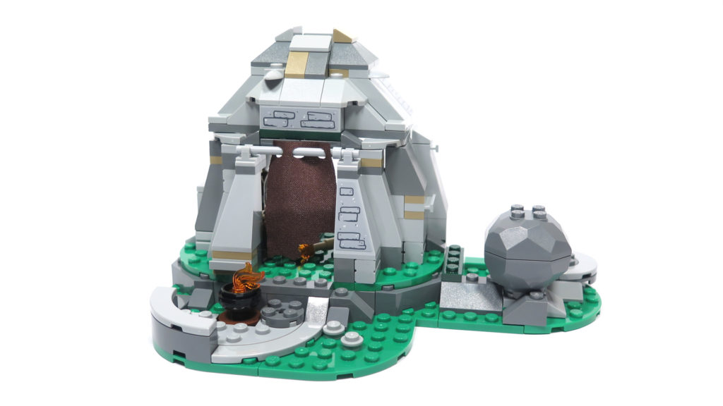 LEGO® Star Wars™ 75200 Ahch-To Island™ Training - Steinhütte | ©2018 Brickzeit