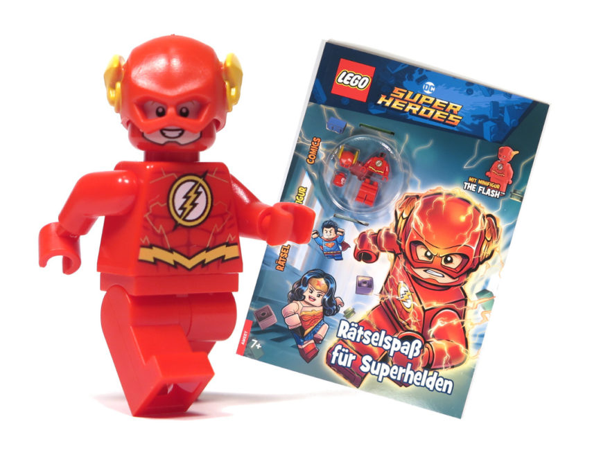 LEGO DC Comics Super Heroes - The Flash Minifigur - Perspektive | ©2018 Brickzeit
