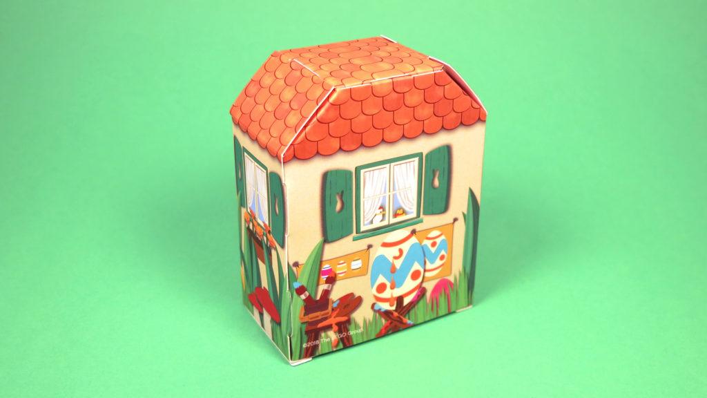 LEGO 5005249 Osterhasenhütte - Hütte Rückseite | ©2018 Brickzeit
