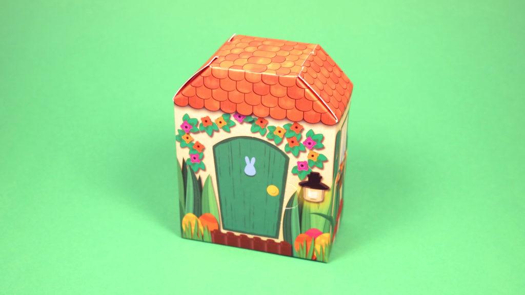 LEGO 5005249 Osterhasenhütte - Hütte Vorderseite | ©2018 Brickzeit