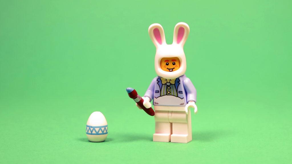 LEGO 5005249 Osterhasenhütte - Osterhase Vorderseite | ©2018 Brickzeit