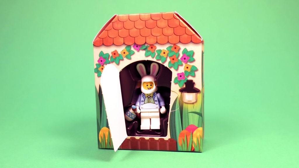 LEGO 5005249 Osterhasenhütte - offene Packung | ©2018 Brickzeit
