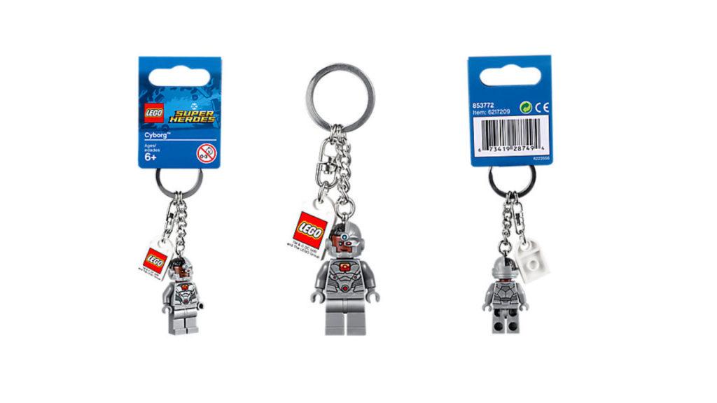 LEGO® DC Comics Super Heroes Cyborg Schlüsselanhänger | © LEGO Gruppe