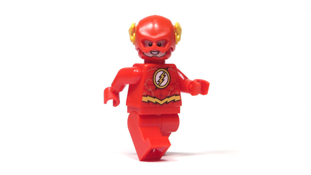 LEGO® DC Comics Super Heroes - The Flash Minifigur - Perspektive | ©2018 Brickzeit