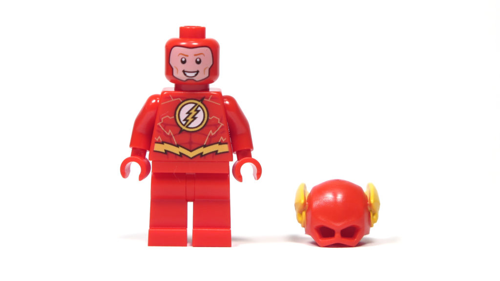 LEGO® DC Comics Super Heroes - The Flash Minifigur - Vorderseite | ©2018 Brickzeit