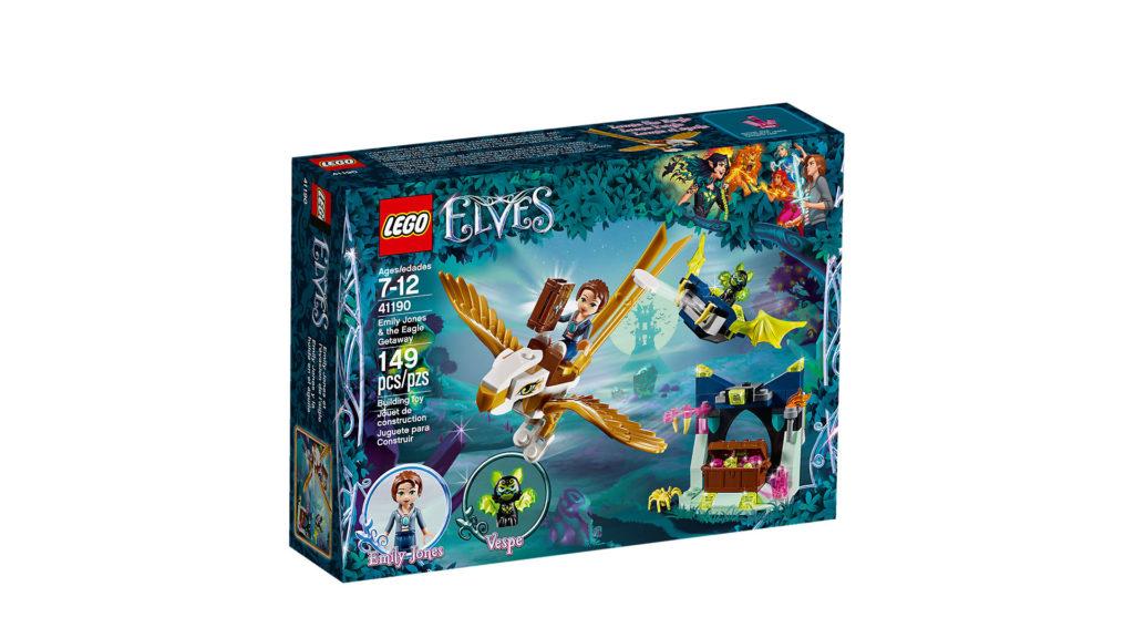 LEGO® Elves 41190 Emily Jones und die Fluch auf dem Adler - Packung | ©LEGO Gruppe