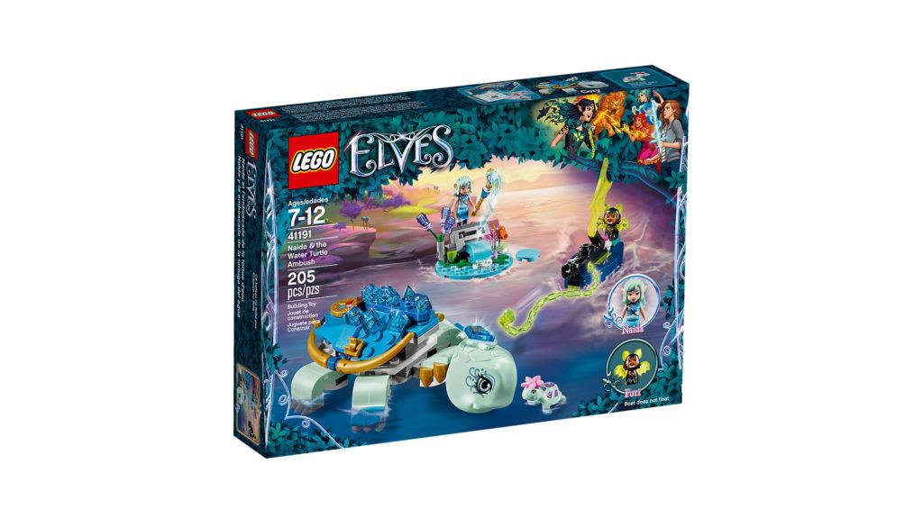 LEGO® Elves 41191 Naida und die Wasserschildkröte - Packung | ©LEGO Gruppe