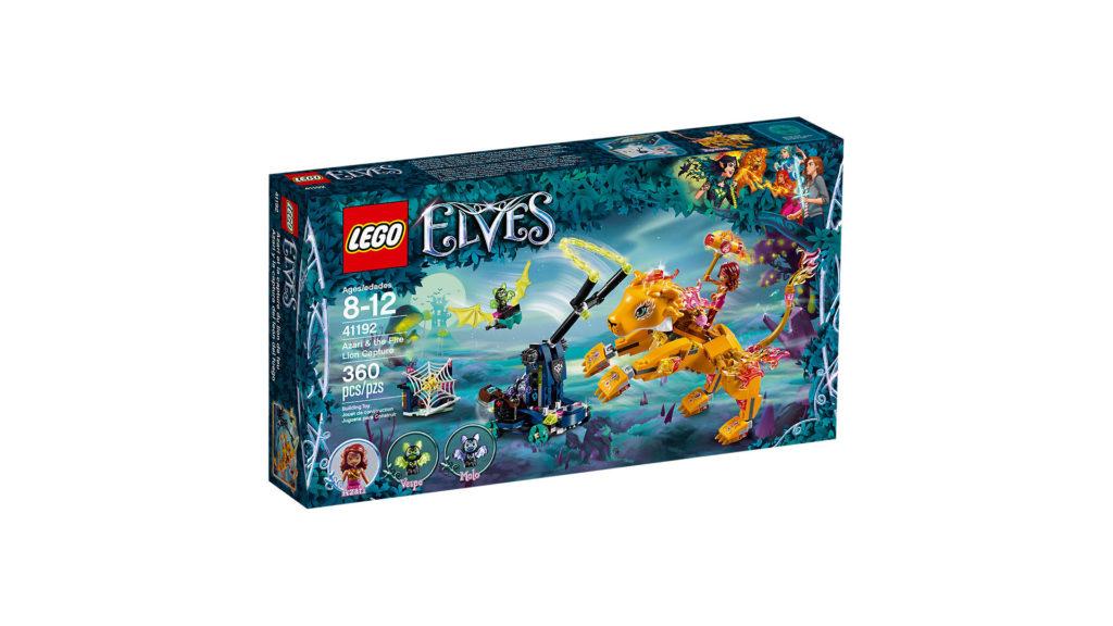 LEGO® Elves 41192 Azari und die Falle für den Feuerlöwen - Packung | ©LEGO Gruppe