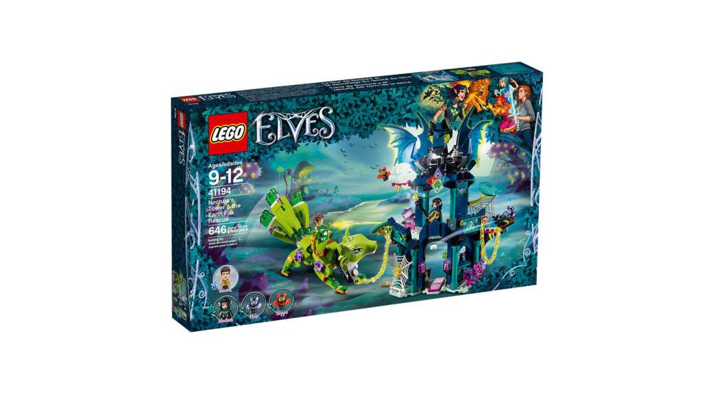 LEGO® Elves 41194 Nocturas Turm und die Rettung des Erdfuchses - Packung | ©LEGO Gruppe