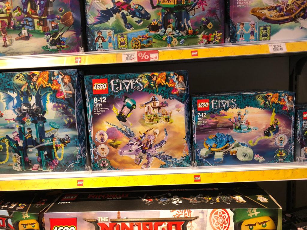 LEGO Elves Neuheiten im Regal | ©2018 Brickzeit