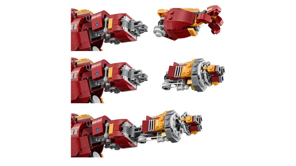 LEGO Marvel Super Heroes 76105 The Hulkbuster: Ultron Edition - modularer Arm | ®LEGO Gruppe