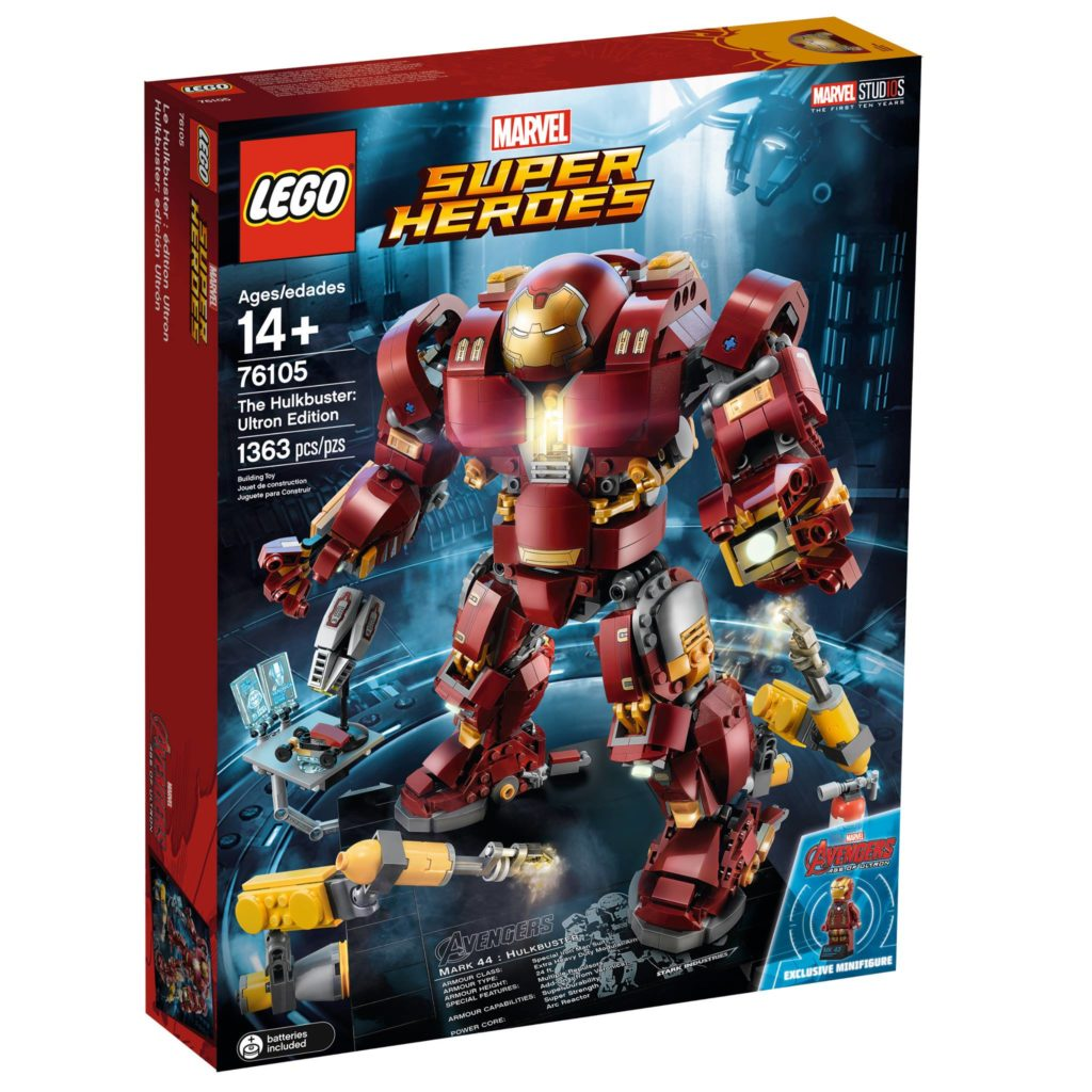 LEGO Marvel Super Heroes 76105 The Hulkbuster: Ultron Edition - Packung 1 | ®LEGO Gruppe