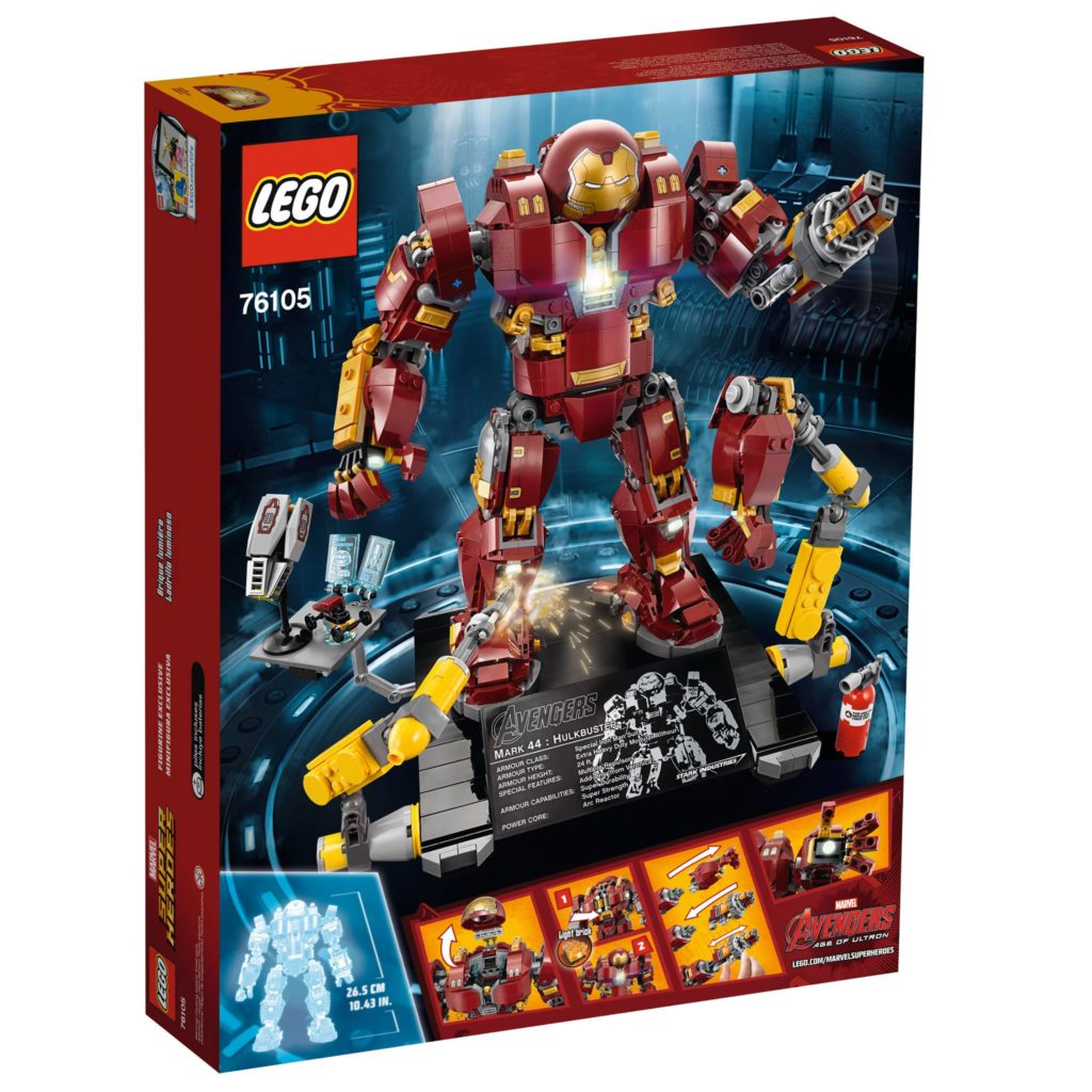 LEGO Marvel Super Heroes 76105 The Hulkbuster: Ultron Edition - Packung 2 | ®LEGO Gruppe
