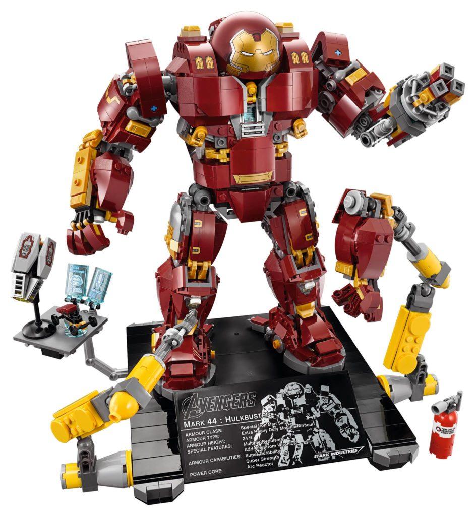 LEGO Marvel Super Heroes 76105 The Hulkbuster: Ultron Edition - Produktbild 1 | ®LEGO Gruppe
