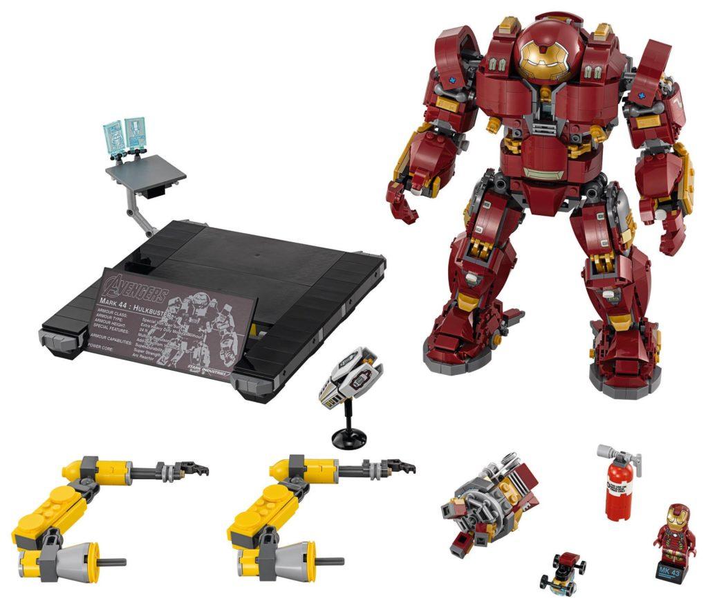 LEGO Marvel Super Heroes 76105 The Hulkbuster: Ultron Edition - Produktbild 2 | ®LEGO Gruppe