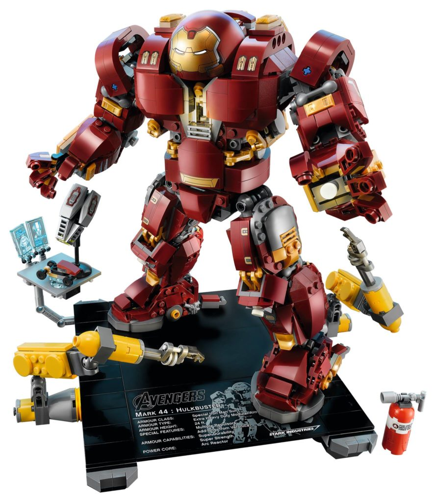 LEGO Marvel Super Heroes 76105 The Hulkbuster: Ultron Edition - Produktbild 4 | ®LEGO Gruppe