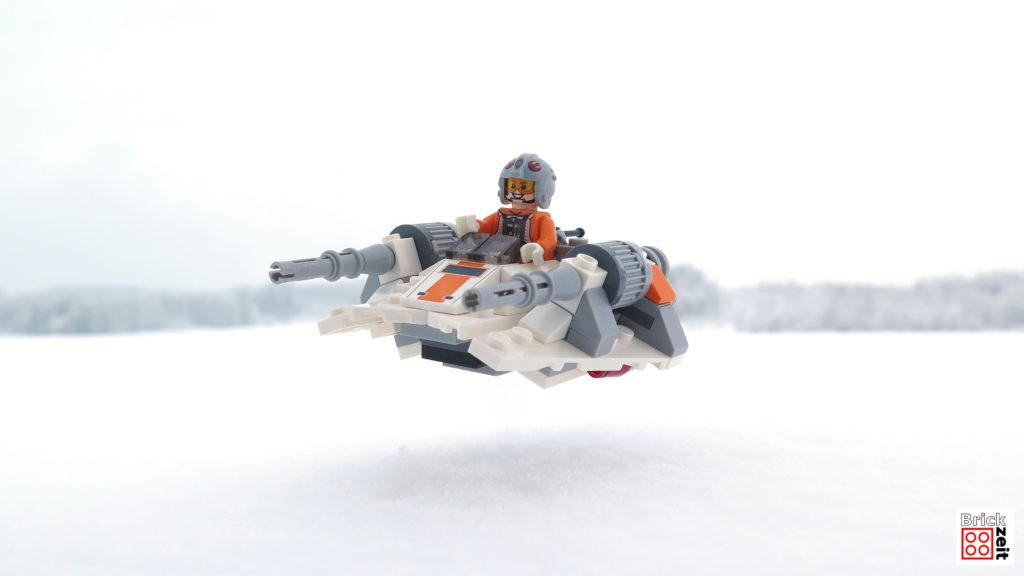 Spaß im Schnee mit dem Snowspeeder - Ausfug im Schnee 1 | ©2018 Brickzeit