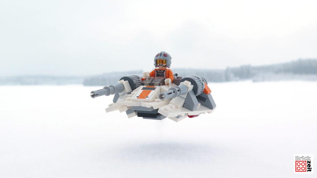 Spaß im Schnee mit dem Snowspeeder - Ausfug im Schnee 2 | ©2018 Brickzeit