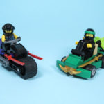 LEGO® NINJAGO® Polybag 30351 Sons of Garmadon und 30352 Turbo Set - Modelle | ©2018 Brickzeit
