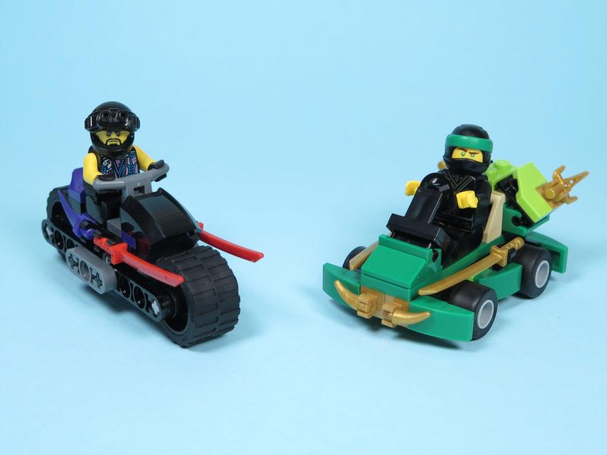 LEGO® NINJAGO® Polybag 30351 Sons of Garmadon und 30352 Turbo Set - Modelle | ©2018 Brickzeit