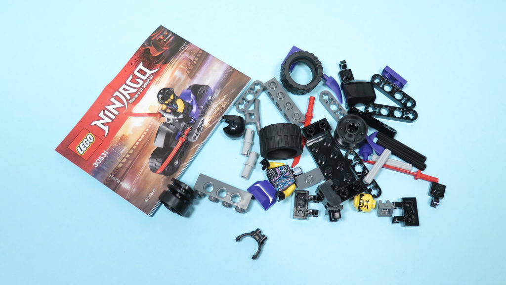 LEGO® NINJAGO® Polybag 30351 Sons of Garmadon - Inhalt Polybag | ©2018 Brickzeit
