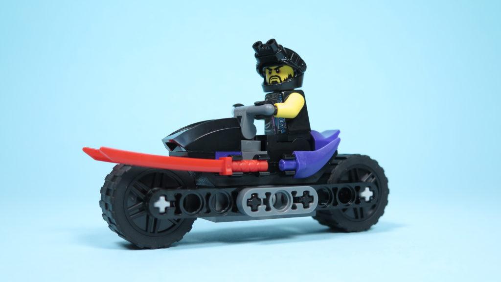 LEGO® NINJAGO® Polybag 30351 Sons of Garmadon - Linke Seite mit Minifigur | ©2018 Brickzeit