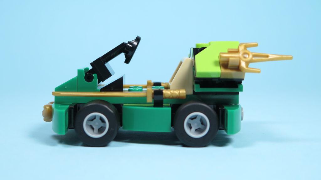 LEGO® NINJAGO® Polybag 30352 Turbo Set - linke Seite | ©2018 Brickzeit