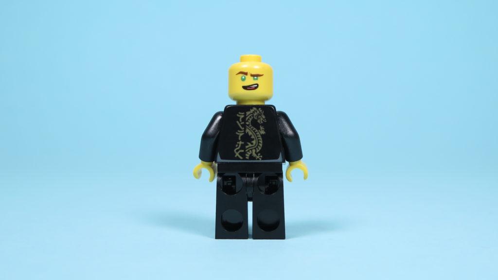 LEGO® NINJAGO® Polybag 30352 Turbo Set - Lloyd Rückseite, Gesicht 1 | ©2018 Brickzeit