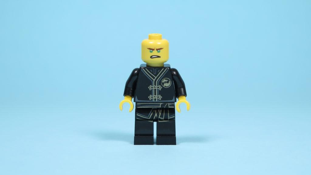 LEGO® NINJAGO® Polybag 30352 Turbo Set - Lloyd Vorderseite, Gesicht 2 | ©2018 Brickzeit