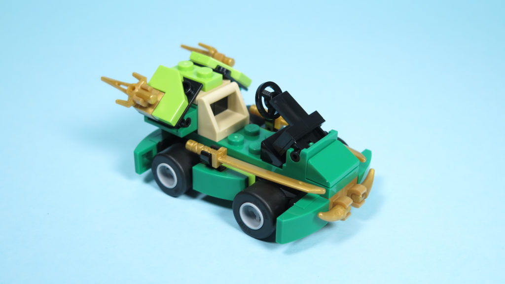 LEGO® NINJAGO® Polybag 30352 Turbo Set - Perspektive | ©2018 Brickzeit