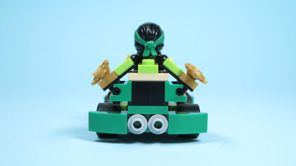 LEGO® NINJAGO® Polybag 30352 Turbo Set - Rückseite mit Lloyd | ©2018 Brickzeit