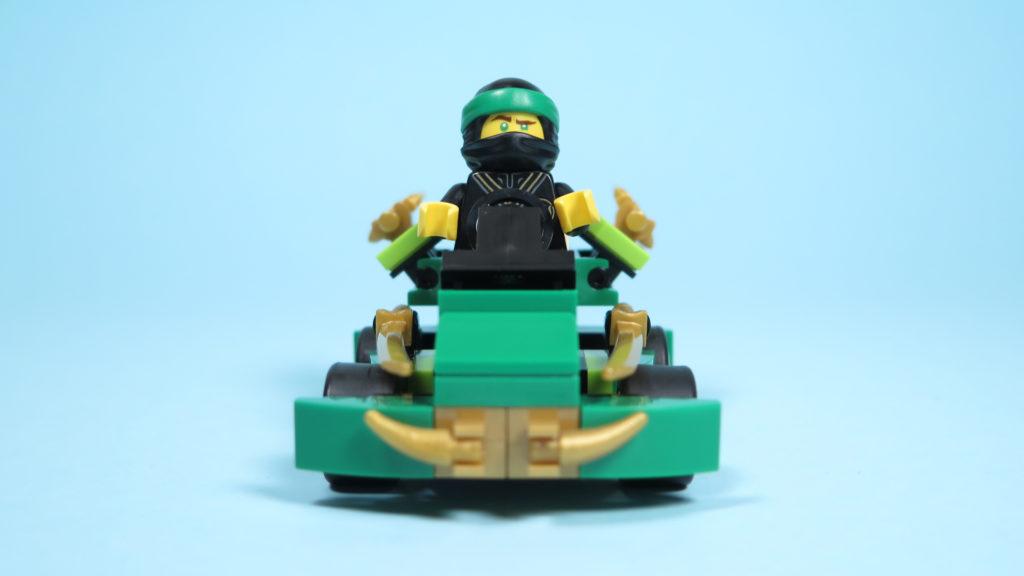 LEGO® NINJAGO® Polybag 30352 Turbo Set - Vorderseite mit Lloyd | ©2018 Brickzeit
