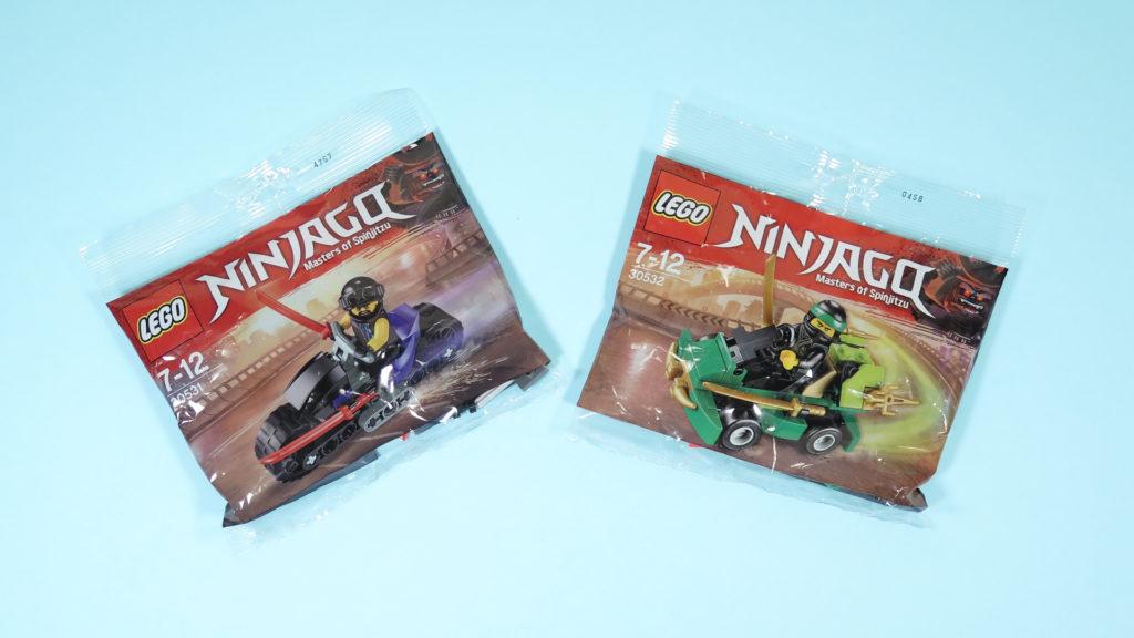 LEGO® NINJAGO® Polybag 30351 und 30352 | ©2018 Brickzeit