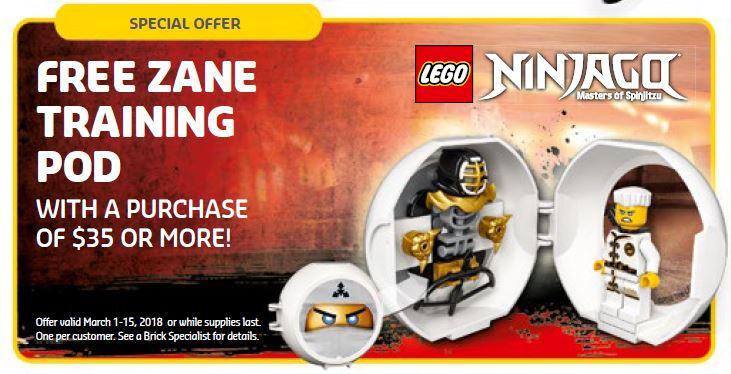 LEGO® NINJAGO® Zane Training Pod | ©LEGO Gruppe