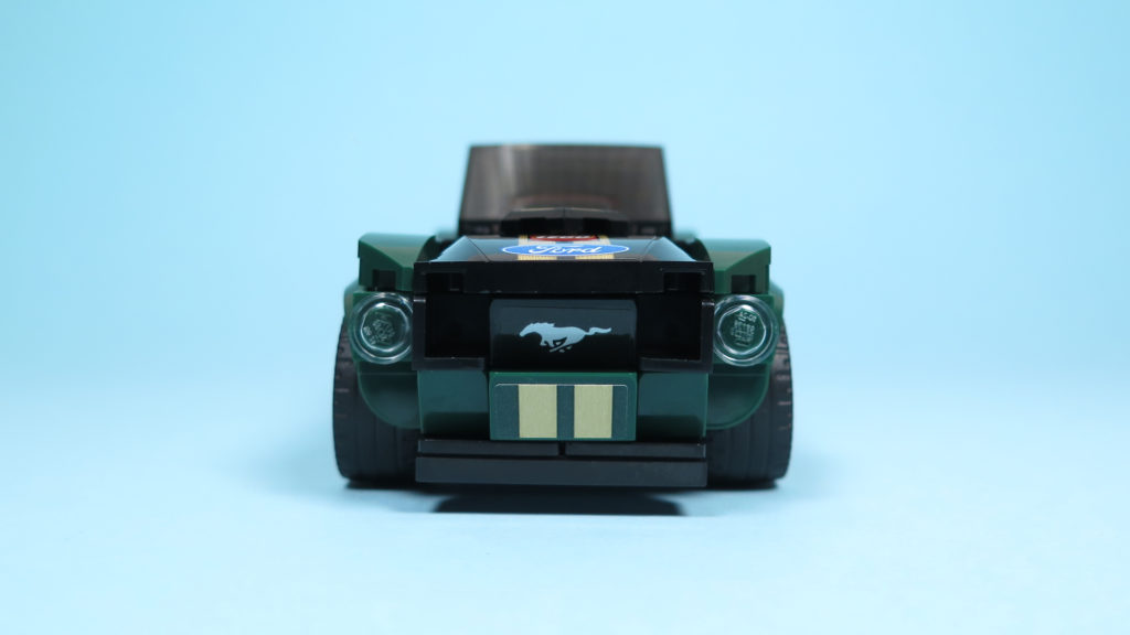 LEGO® Speed Champions - 75884 - 1968 Ford Mustang Fastback - Front   ©2018 Brickzeit