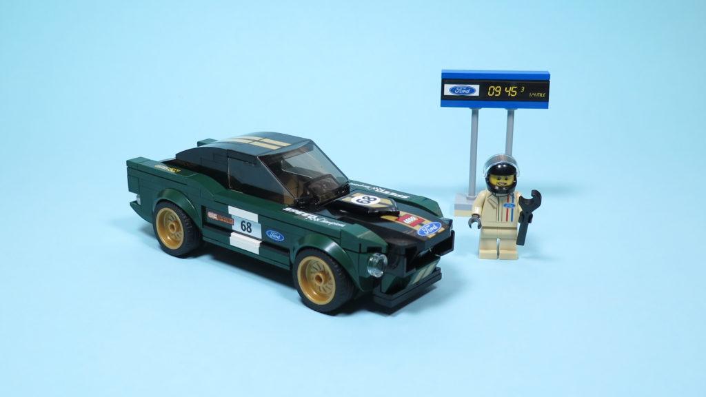 LEGO® Speed Champions - 75884 - 1968 Ford Mustang Fastback - komplettes Set   ©2018 Brickzeit