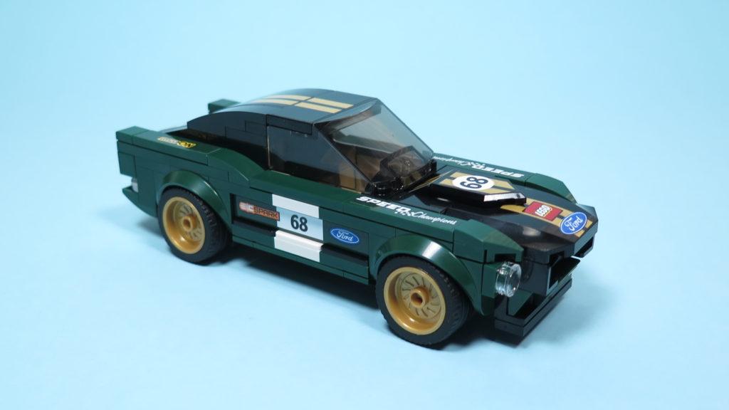 LEGO® Speed Champions - 75884 - 1968 Ford Mustang Fastback - Perspektive   ©2018 Brickzeit