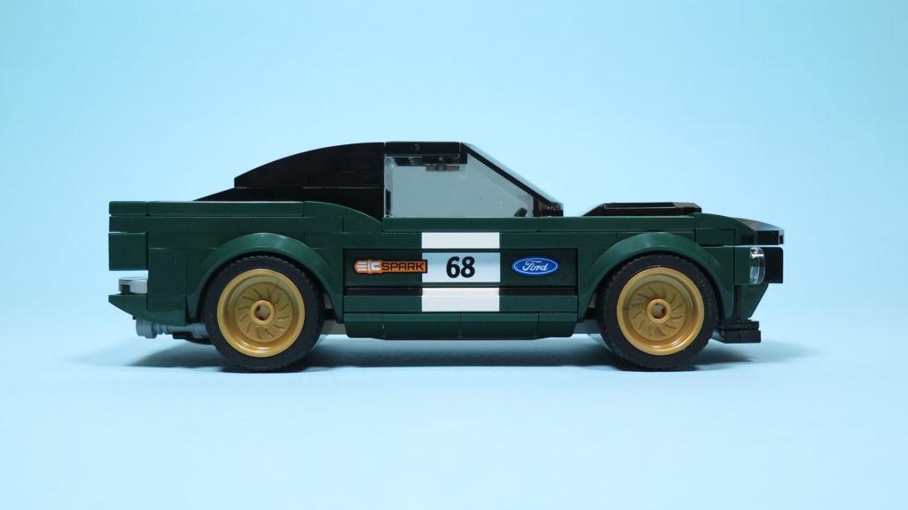 LEGO® Speed Champions - 75884 - 1968 Ford Mustang Fastback - rechte Seite | ©2018 Brickzeit