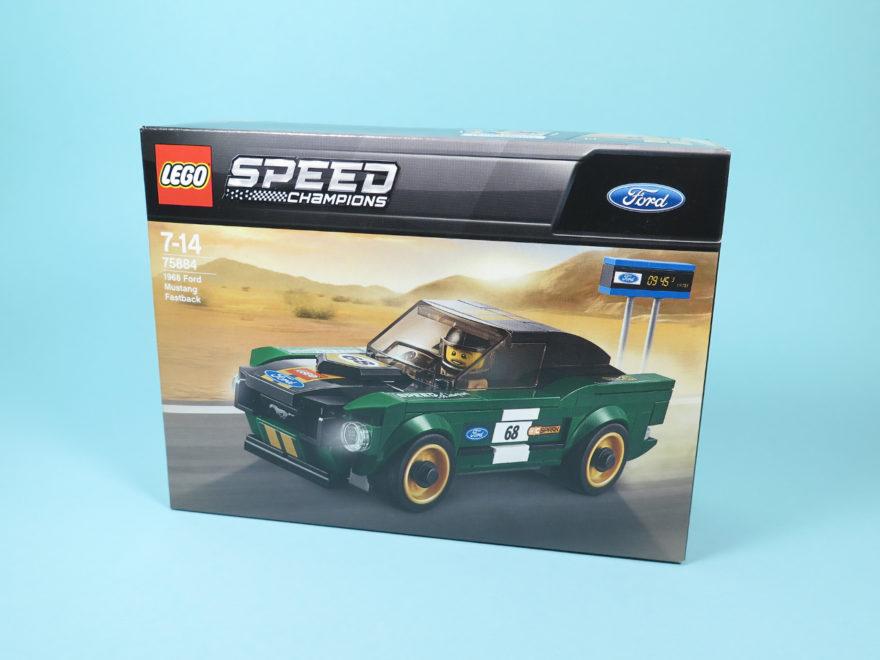 LEGO Speed Champions 1968 Ford Mustang Fastback (75884) - Titelbild | ©2018 Brickzeit