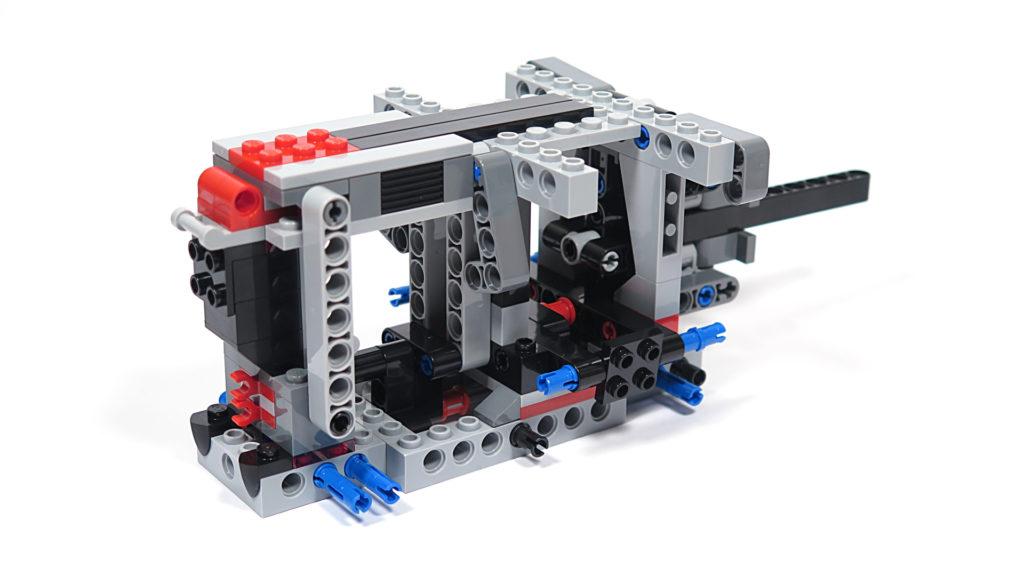 LEGO® Star Wars™ 75189 First Order Heavy Assault Walker™ - Bauabschnitt 1 - Rückseite | ©2018 Brickzeit